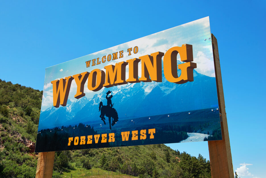 Sign in Wyoming