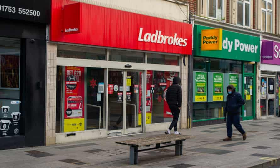 Ladbrokes & Paddy Power store fronts