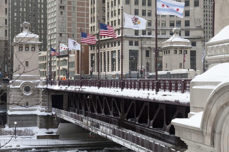 Michigan-Chicago bridge