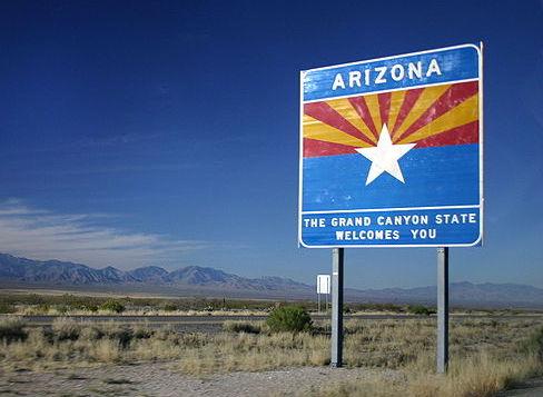 Arizona sign