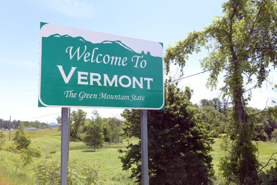 Vermont sign