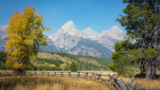 Mountains in Wyoming