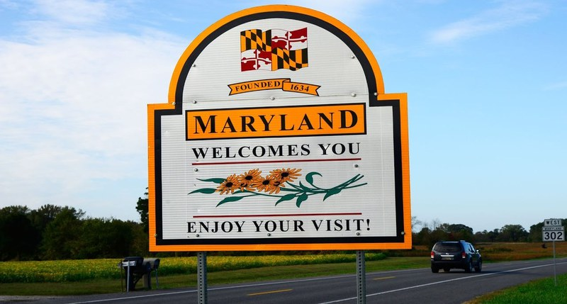 Maryland sign