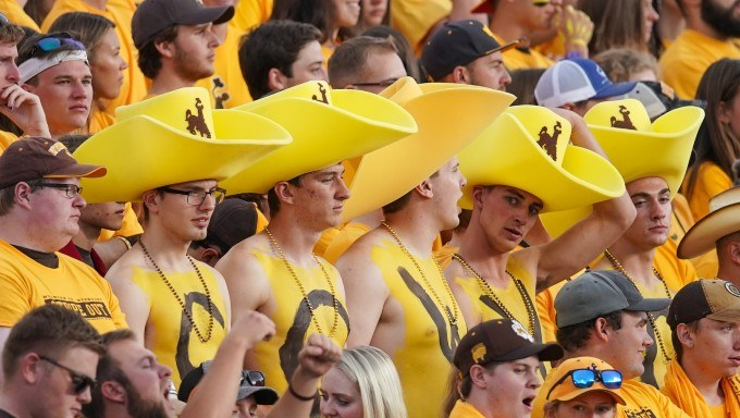 Whyoming Cowboys supporters